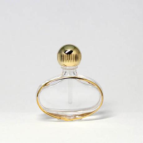 日本製 香水移し替えに便利なノズル&ジョーゴ付パースパフュームボトル ゴンドラ 金(ヤマダアトマイザー製品)