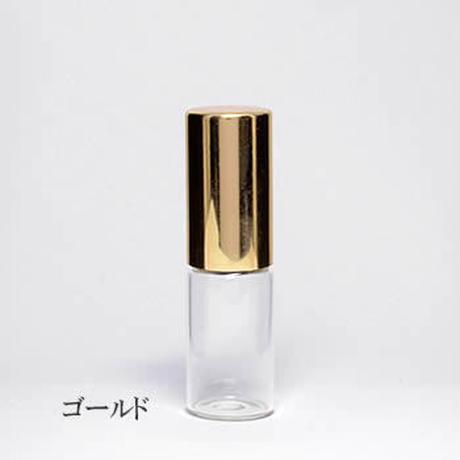 GRG-101-030 3mlガラスロールオンボトル  ゴールドキャップ  5個セット