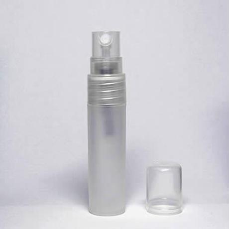 消毒用エタノールにも対応!PSC-201-050 5ml スクリュー式ポリプロピレンアトマイザー 5個セット