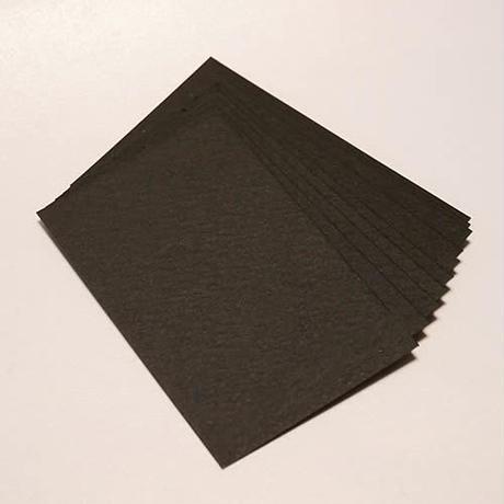 BCB-301-050  日本製 カードムエット ブラック 50枚