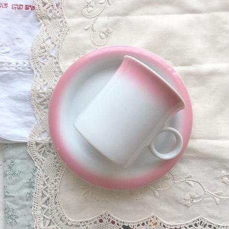 vintage  pink  cup