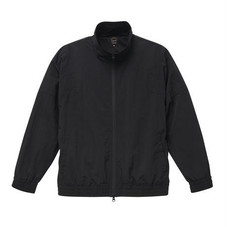 ナイロントラックジャケット ブラック