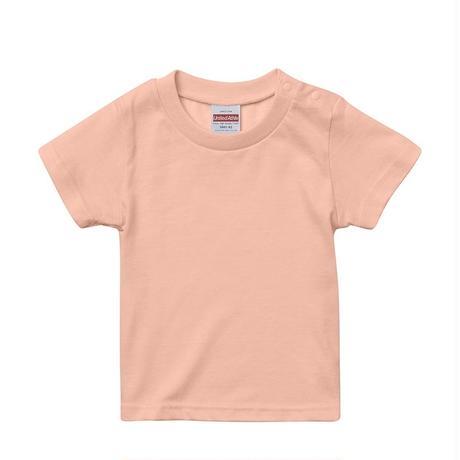 Tシャツ キッズ 無地 アプリコット