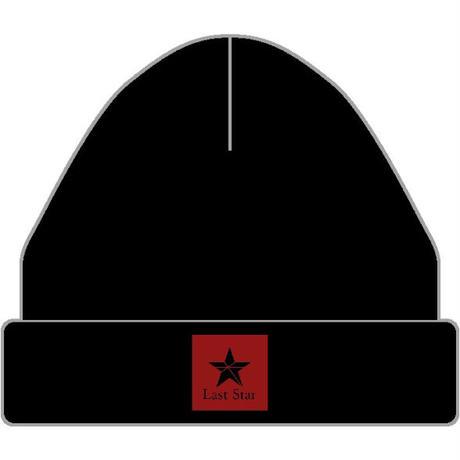 Last Star ニットキャップ(Black/White)