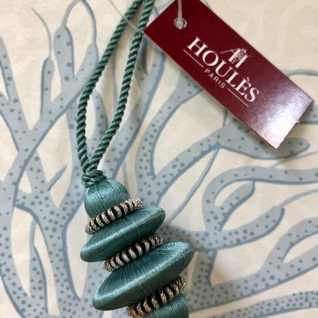Houles ONYX Key Tassel (emerald green)
