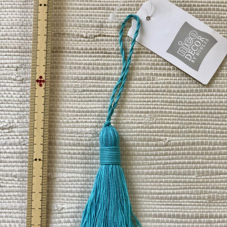 Houles MASAI Key Tassel (turquoise blue)