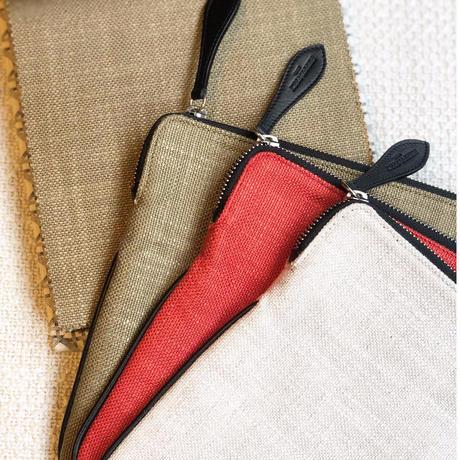 """PierreFrey """"Pochette Portofino"""" with key tassel  iPadcase"""