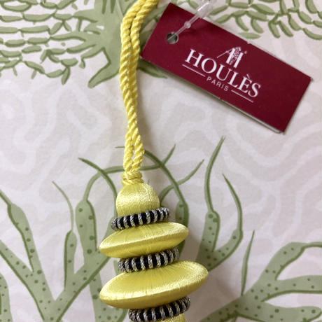 Houles ONYX Key Tassel (yellow)