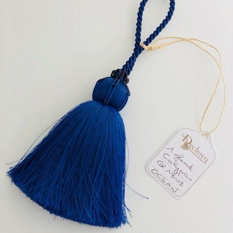 Declercq Passementiers OCEAN Collection Key Tassel (Blue)