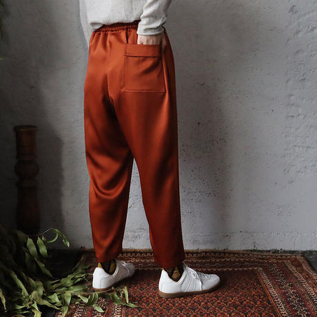 NOTA  satin pants ( terracotta)