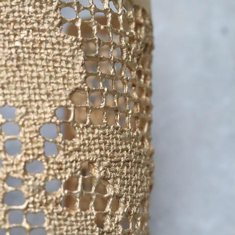 MAISON RUBUS. recollection lace bangle  (yellowgold)