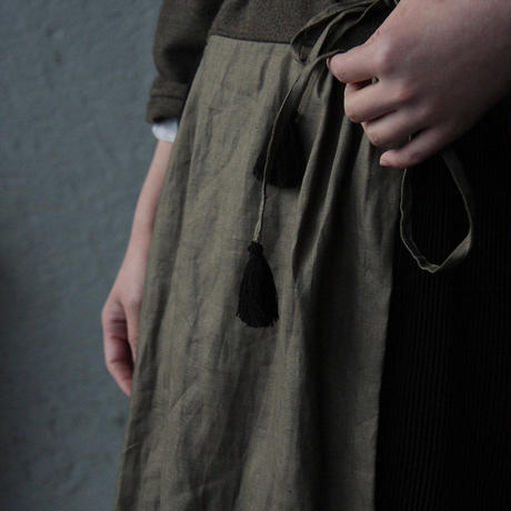 Tabrik cache-coeur dress (khaki)