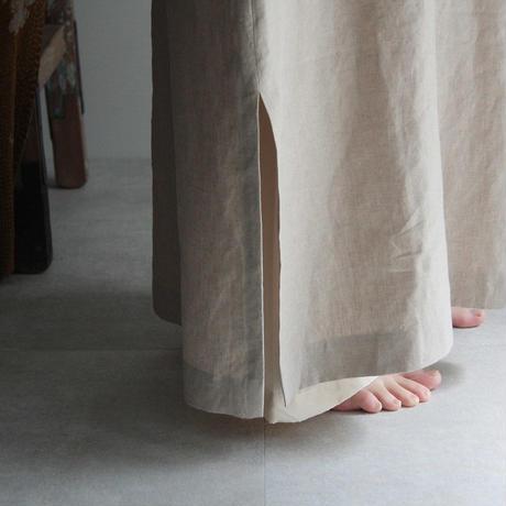 COUNTERPOINT kaftan dress (beige)