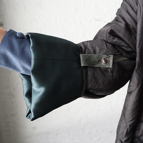 NOTA vintage quilting jacket (sleeve:green)