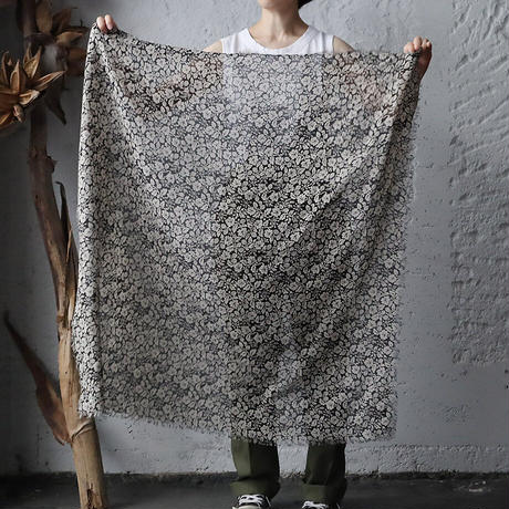 R&D.M.Co- wild berry gauze shawl