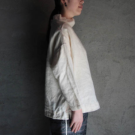TOWAVASE fisher woman's shirt beige
