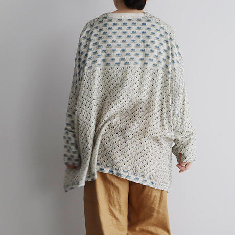 TOWAVASE sarasa silk blouse (ivory)