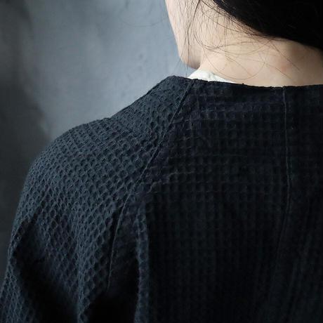 dead stock hospital gown (black)