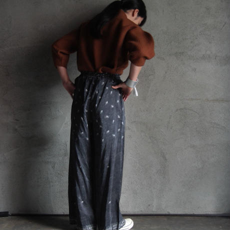 TOWAVASE Aquarelle silk pants