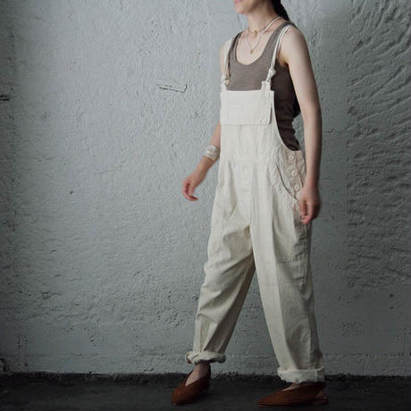 france navy type  overalls white