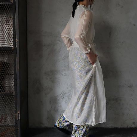 Tabrik  organdy  shirt dress (ivory)