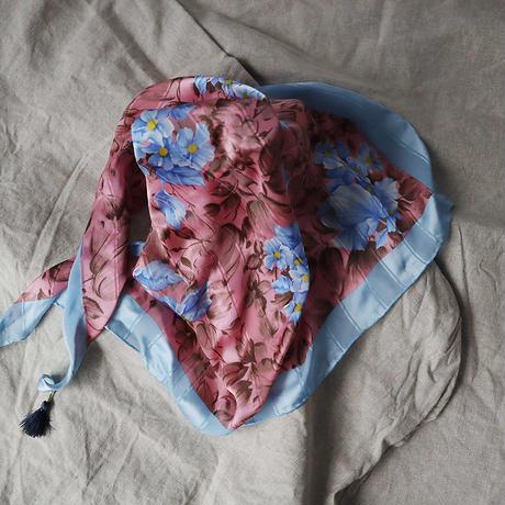 Mia Hat & Accessory tassel scarf (pink)