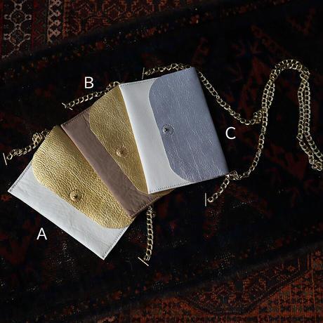 chiihao x nii-B poche bicolor  metallic