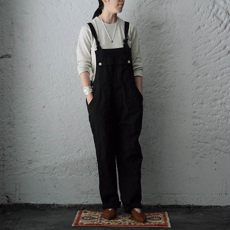 france navy type  overalls black