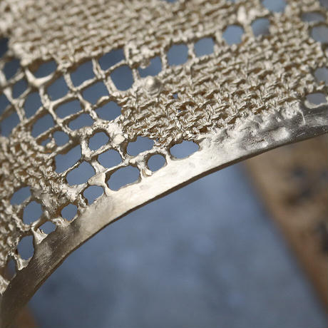 MAISON RUBUS. recollection lace bangle  (yellowgold)
