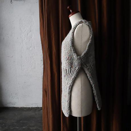 chiihao x nii-B peru vest gray mix