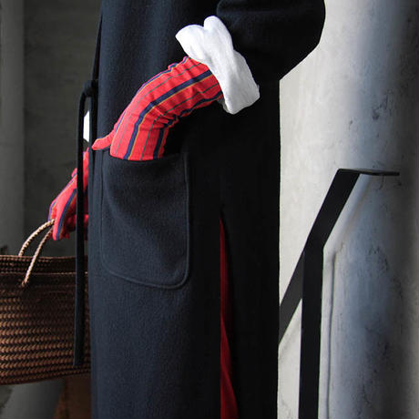 MARCOMONDE long gloves red