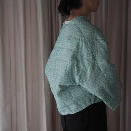 TOWAVASE Sarasa quilt Jacket (green)