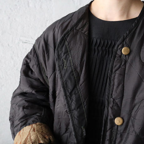 NOTA vintage quilting jacket (sleeve:blown)
