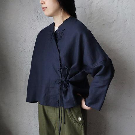 TOWAVASE Bon Voyage blouse (navy)