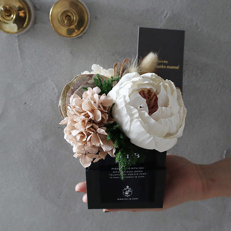 Mother'sDay 2020 preserved + dry flower (beige)