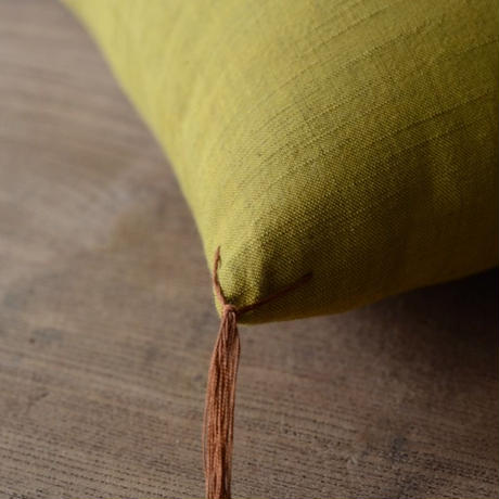 型染め本縫い小座布団 鈴