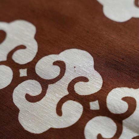 型染め タペストリー「屈輪紋=ぐりもん」