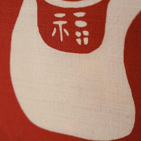 型染め額装 招き猫 ●受注製作 ご注文から14日程お時間戴きます