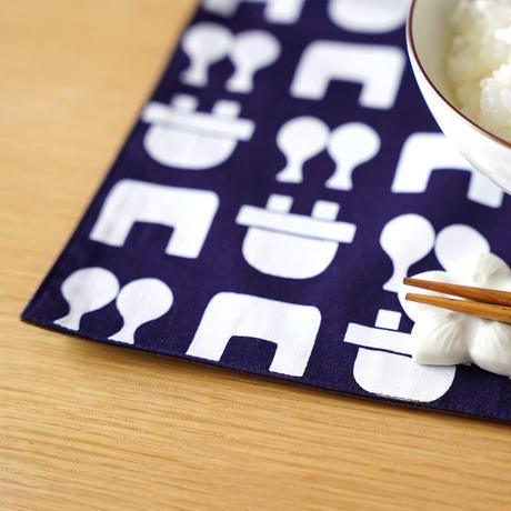 ランチョンマット 飯炊き紋