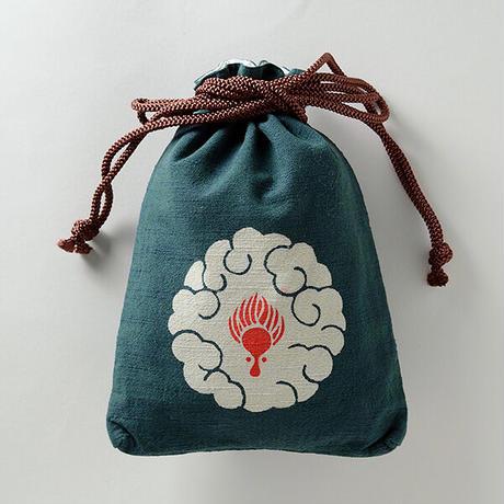 縁起柄セット<守袋+合財袋> 辰 ●守袋は新しい紐仕様でのお届けとなります