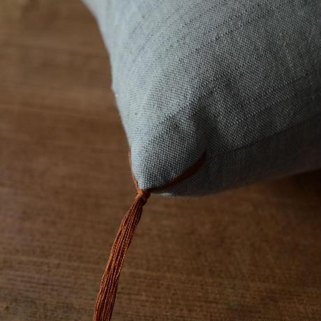 型染め本縫い小座布団 州浜