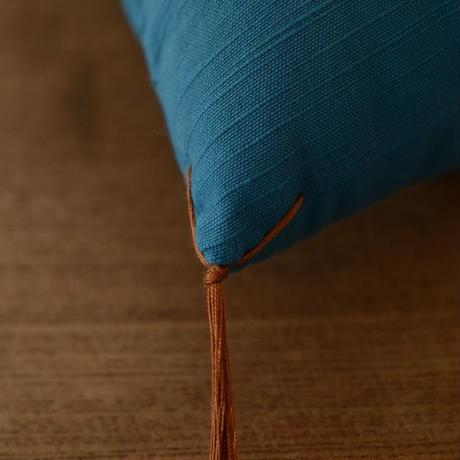 型染め本縫い小座布団 霞