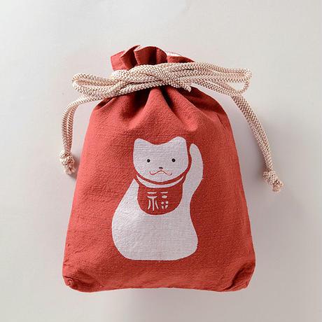 合財袋 招き猫