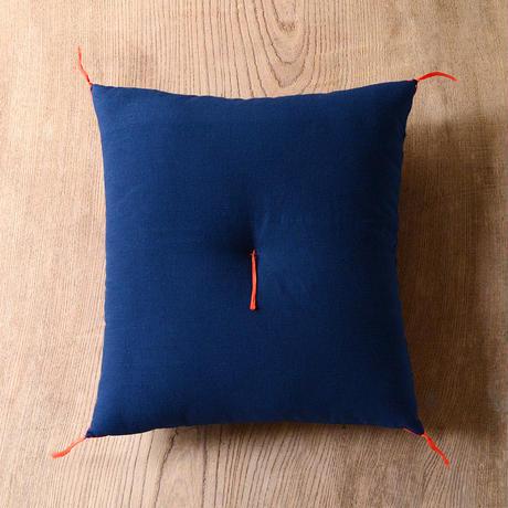 型染め本縫い小座布団 燕