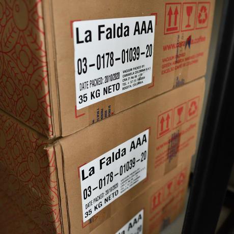 コロンビア ラ・ファルダ AAA シティロースト/中深煎り 200g