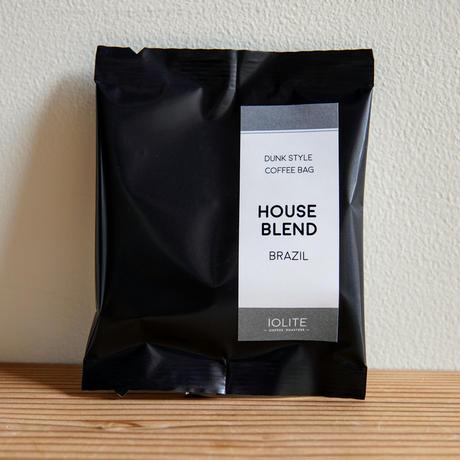 【ダンク式コーヒーバッグ】 ハウスブレンド(深煎り) 5個セット