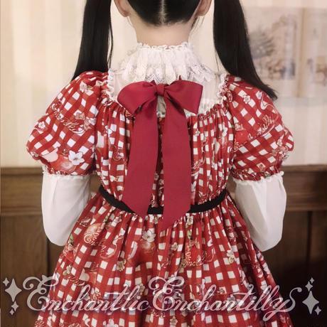 【下訂後生產】 下午3點的Queen Bunny 連衣裙(Asian countries)