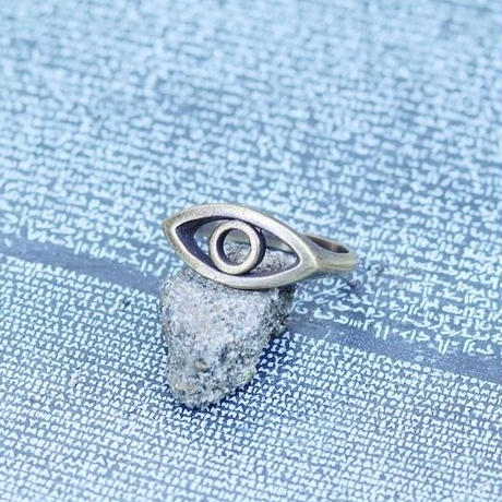 TIME    Eyes Ring ( BRASS)