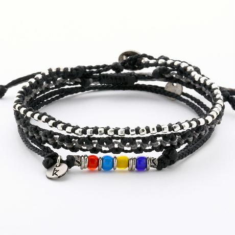 Wakami - 3set anklet / black