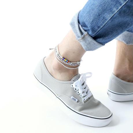 Wakami - 3set anklet / white